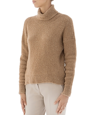 Peserico Sherpa Turtleneck Sweater