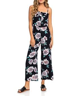 Roxy - Feel The Retro Spirit Floral Jumpsuit