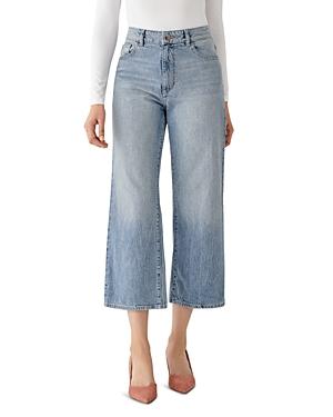 DL1961 x Marianna Hewitt Hepburn High-Rise Jeans in Humboldt
