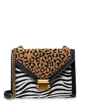 MICHAEL Michael Kors - Whitney Large Animal-Print Convertible Shoulder Bag