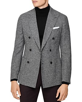 REISS - Grange Houndstooth Slim Fit Blazer