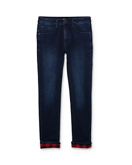 Hudson - Boys' Flannel-Lined Slim-Leg Skinny Jeans - Big Kid