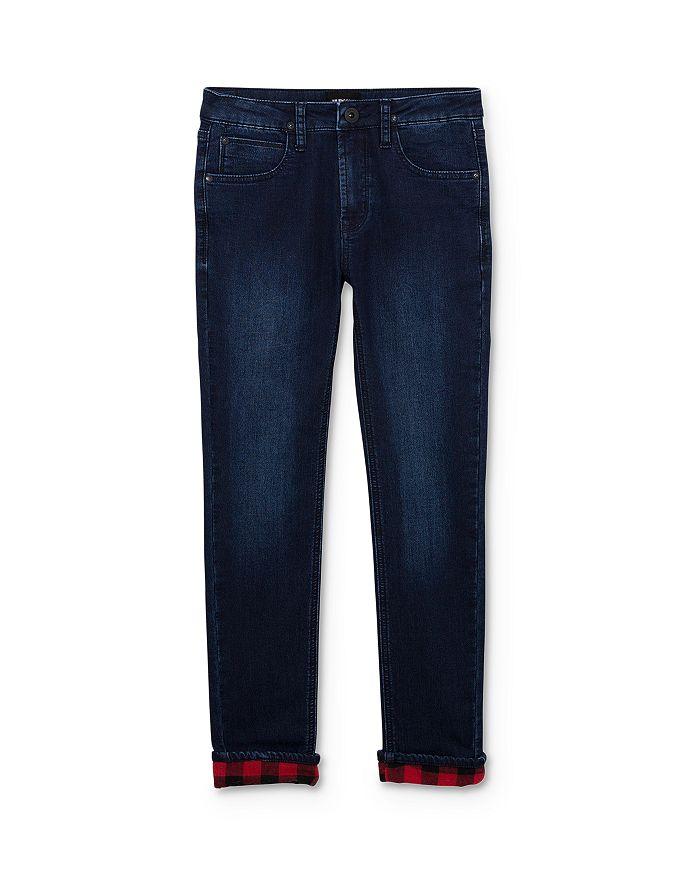 Hudson - Boys' Flannel-Lined Slim-Leg Skinny Jeans - Little Kid