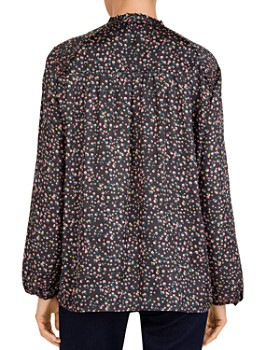 Gerard Darel - Mawflower Floral-Print Button-Front Blouse