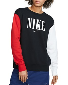 Nike - Color-Block Logo Sweatshirt