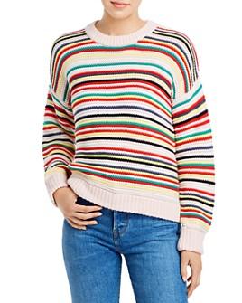 525 America - Ribbed Stripe Sweater