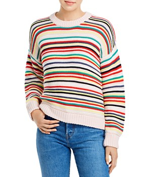525 America - Ribbed Stripe Sweater