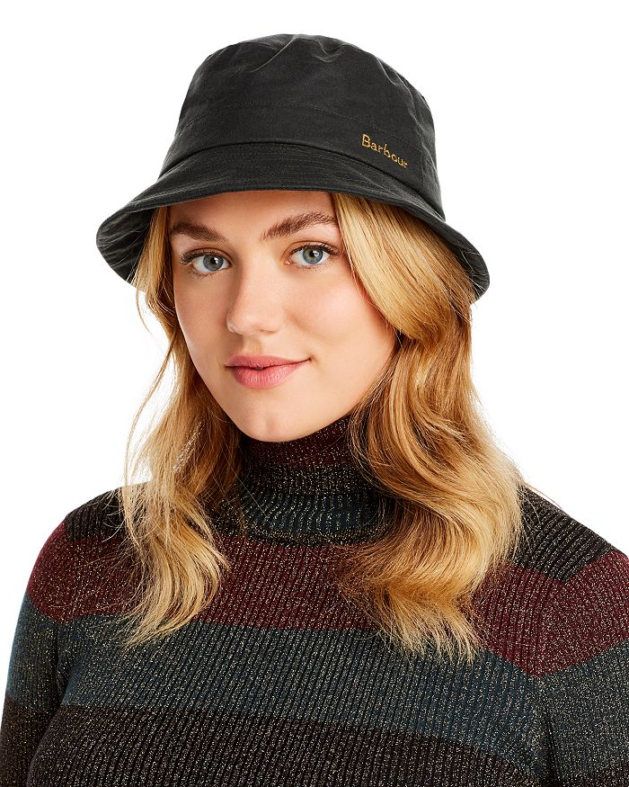 Barbour - Icon Dovecote Waxed Bucket Hat