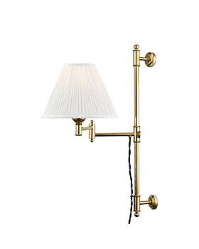 Hudson Valley - Classic No.1 by Mark D. Sikes 1 Light Adjustable Swing-Arm Wall Sconce