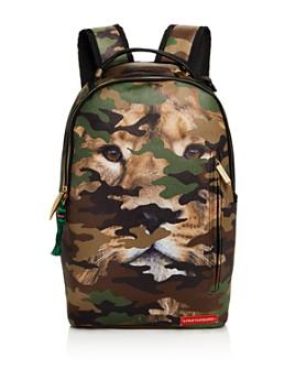 Sprayground - Boys' Camouflaged Lion Backpack