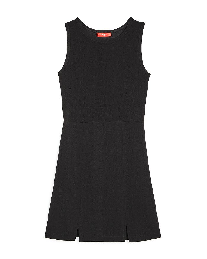 AQUA - Girls' Paneled A-Line Dress, Big Kid - 100% Exclusive