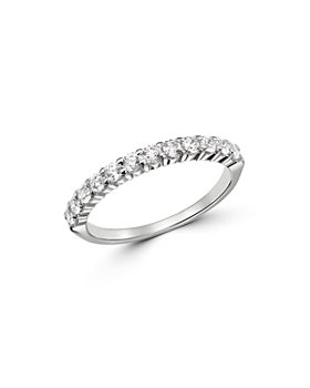 Bloomingdale's - Diamond Stacking Band in 14K White Gold, 0.50 ct. t.w. - 100% Exclusive