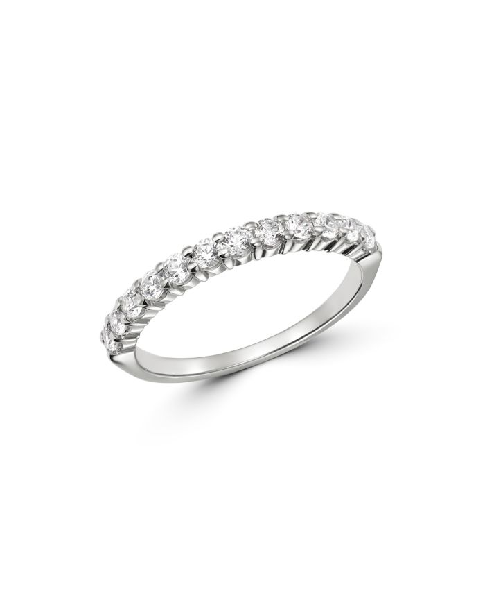 Bloomingdale's Diamond Stacking Band in 14K White Gold, 0.50 ct. t.w. - 100% Exclusive  | Bloomingdale's