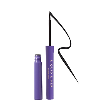 What It Is: A waterproof, highly pigmented, true-black matte liquid liner that glides on evenly and delivers precise lines with ease. Featuring a soft felt-tip precision applicator, this liner lets you flawlessly create everything from sharp thin lines to dramatic bold lines without skipping or running. What It Does: - Long-lasting, waterproof, full-pigment formula - Highly saturated, true-black matte shade - Ultra-fine felt tip is easy to use and allows for precise, controlled application - Sup