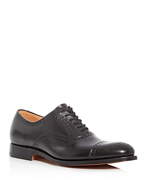 Church's Men's Toronto Leather Brogue Cap-Toe Oxfords