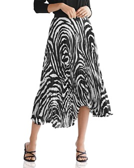 Bailey 44 - Logan Zebra Print Pleated Skirt - 100% Exclusive