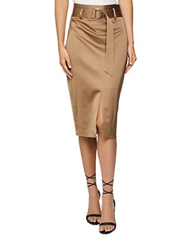 REISS - Bryn Belted Pencil Skirt