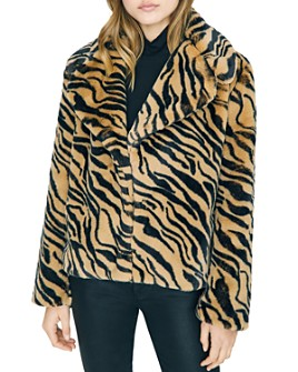Sanctuary - Wild Nights Faux Fur Jacket - 100% Exclusive
