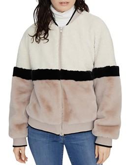 Sanctuary - Block Party Faux Fur Jacket