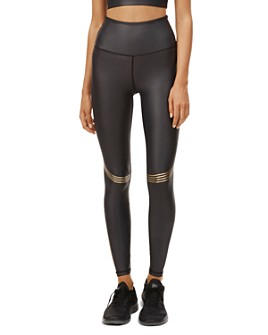All Fenix - Speed Metallic-Stripe Leggings