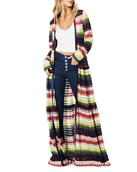 Ramy Brook - Amretha Crochet Duster Cardigan
