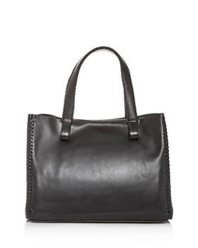 Callista - Grace Loop Leather Tote