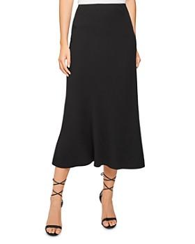 REISS - Remy Floaty Midi Skirt