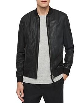ALLSAINTS - Blythe Leather Bomber Jacket