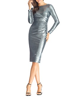 Dress the Population - Emilia Sequin Sheath Dress