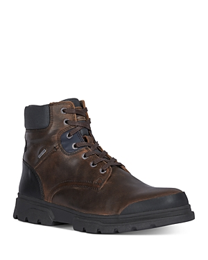 Geox Men\\\'s Clintford Waterproof Lace-Up Boots