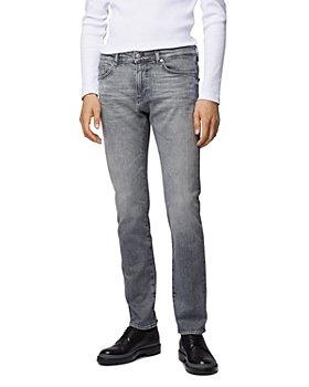 BOSS - Delaware3 Slim Fit Jeans in Medium Gray