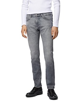 BOSS - Delaware3 Slim Fit Jeans in Medium Gray