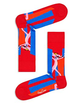 Happy Socks - Pink Panther Crew Socks