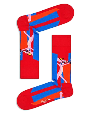 Happy Socks Pink Panther Crew Socks