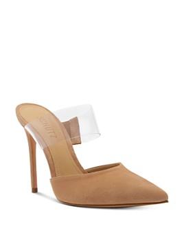 SCHUTZ - Women's Sionne High-Heel Mules