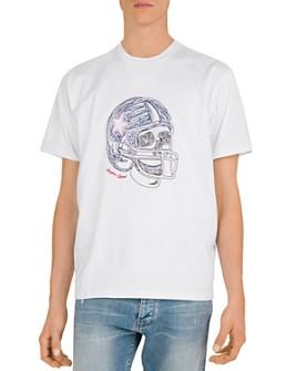 The Kooples - Skullhead Embroidered Crewneck Tee