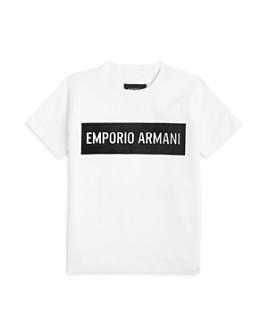 Armani - Boys' Logo Tee - Little Kid, Big Kid