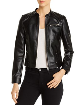 Vero Moda - Sheena Faux-Leather Moto Jacket