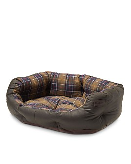 Barbour - Waxed Cotton Dog Bed, 30""