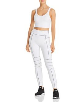 Alo Yoga - Alo Yoga Fortify Cropped Tank & Endurance Leggings