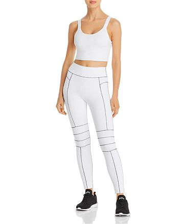 Alo Yoga - Fortify Cropped Tank & Endurance Leggings