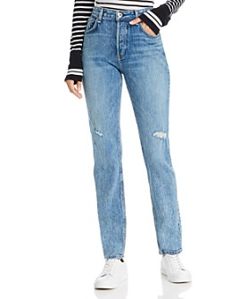 rag & bone - Rosa Distressed Boyfriend Jeans in North Star