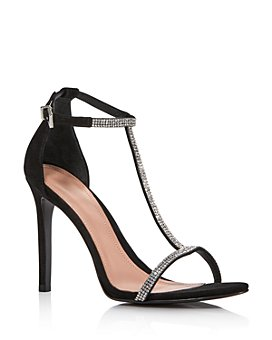 AQUA - Women's Hariana Crystal-Embellished Strappy Sandals - 100% Exclusive
