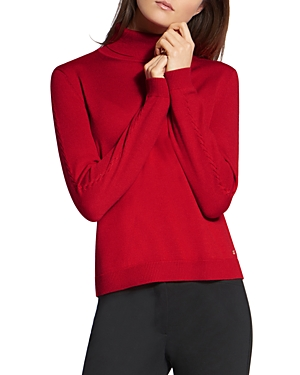 Basler Virgin Wool & Silk Turtleneck