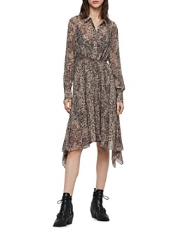 ALLSAINTS - Lizzy Patch Shirt Dress