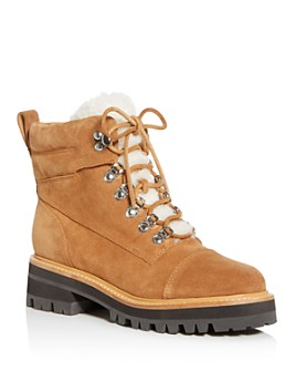 Marc Fisher LTD. - Women's Idella Shearling Hiker Boots - 100% Exclusive