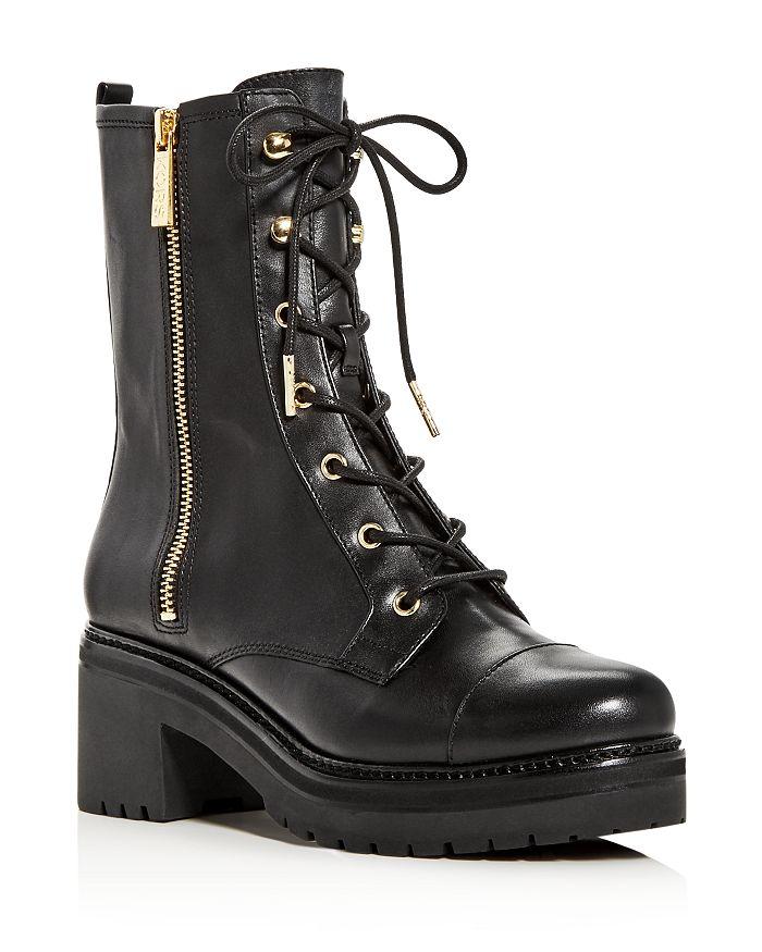 MICHAEL Michael Kors - Women's Anaka Platform Combat Boots