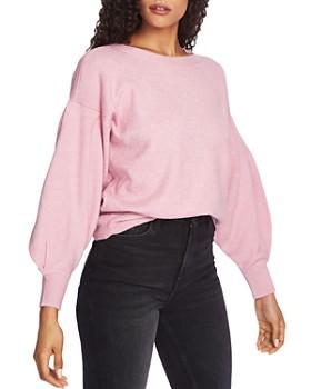 1.STATE - Blouson-Sleeve Sweater