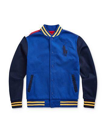 Ralph Lauren - Boys' Skier Baseball Jacket - Big Kid