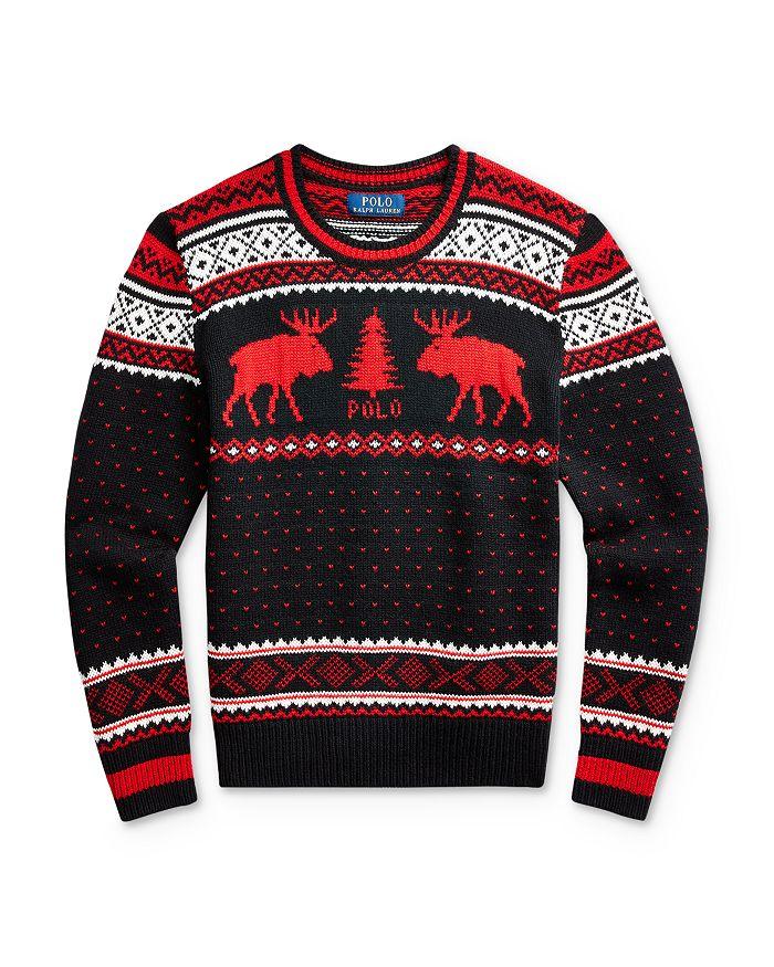 Ralph Lauren - Boys' Reindeer Sweater - Big Kid